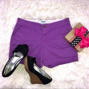 👀 Old Navy size 2 purple shorts Summer GORGEOUS!